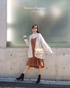 84 korean outfits to look cool and fashionable 62 Korean Girl Fashion, Korean Fashion Trends, Ulzzang Fashion, Korean Street Fashion, Korea Fashion, Japan Fashion, Look Fashion, Autumn Fashion, Fashion Styles