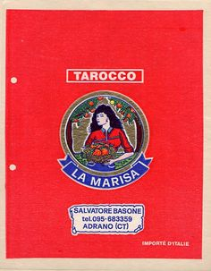 La Marisa Fruit wrapper