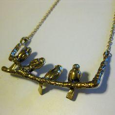 Birdy Necklace    £24.00 #statementjewelry #statementjewellery #jewelry #jewellery #ThatsPretty #fashion #vintagejewelry
