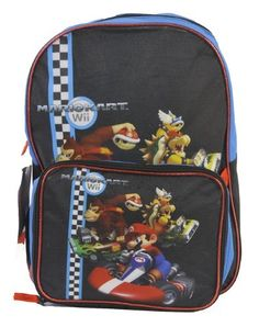 Super Mario Large Backpack and One Mickey Mouse Sticker Set by Super Mario. $29.99. Super Mario Large Backpack with Detachable Lunch Bag and One Mickey Mouse Sticker Set