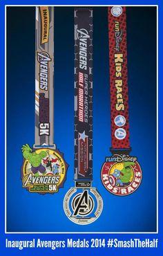 Avengers Half Marathon Medals Revealed - My No-Guilt Life | My No-Guilt Life