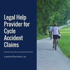 What do you do if you are injured in a cycling accident? Contact a Cycling Accident Claims Solicitor in Ireland for your cycling accident claims. These legal professionals help you achieve the compensation you deserve. No win no fee. No Win No Fee, Cycle To Work, Accident Injury, Personal Injury, Road Cycling, Need To Know, How To Become, Cyclists, Dublin Ireland