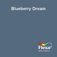 Flexa Creations kleur: Blueberry Dream voor op de muur bij Youri
