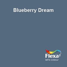 Flexa Creations kleur: Blueberry Dream