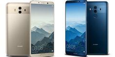 Huawei dévoile le Mate 10 et 10 Pro