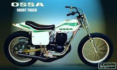 Ossa Stiletto was a great TT and short tracker in the 70's Would  make a great vintage racer.