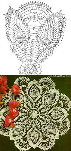 Crochet Doily Patterns Free Diagrams Lots Of Free Crochet Doily Patterns Here Crochet Crochet Doily Patterns Notikaland Main Page. Crochet Doily Patterns Oval Crochet Doily Patternhow To Crochet Oval Doilysimple Crochet. Crochet Doily P. Crochet Diy, Mandala Au Crochet, Art Au Crochet, Beau Crochet, Crochet Vintage, Free Crochet Doily Patterns, Crochet Dollies, Crochet Diagram, Crochet Chart