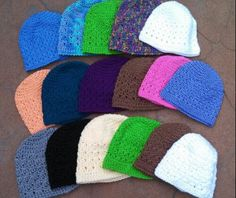 Free Crochet Pattern - Amazing Grace Hat