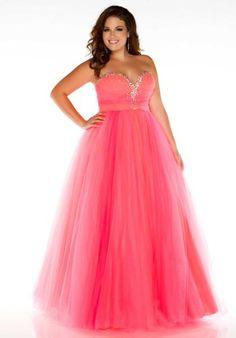 Fabulouss Plus Size 2042F at Prom Dress Shop