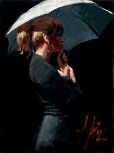 Fabian Perez - Summer Rain II