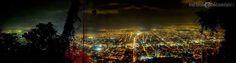 Vista aerea de San Pedro Sula desde la montaña del Merendon