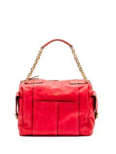 Olivia Harris, Forever 27 Box Satchel, Azalea Pink, $199 (was $458)