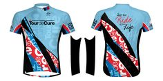 2013 Tour de Cure Jersey!  Just Raise $500 and you can choose this as your thank you gift! www.tour.diabetes.org...this is my new jersey!  isn't it awesome?