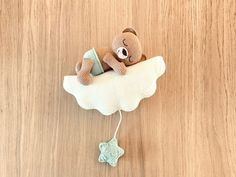Sweet Dreams, Crochet Earrings, Crochet Patterns, Bear, Christmas Ornaments, Holiday Decor, Diy, Babyshower, Amigurumi Patterns