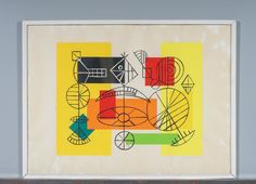 Ernst Mether-Borgström: Topi, 1969, serigrafia, 50x68 cm, edition 60/60 - Huutokauppa Helander 1/2016