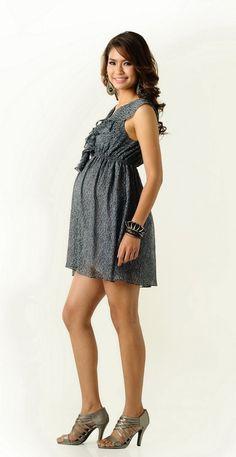 Landau Scrubs - Maternity Empire Waist Top | Maternity Clothes ...