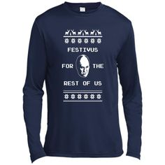 Festivus For The Rest of Us Ugly Holiday Sweater C - Men's T-Shirt