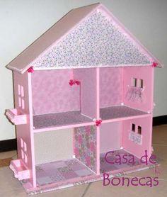 casinha de boneca em mdf - Pesquisa Google