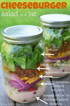 Cheeseburger Salad i