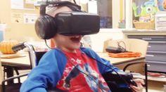 """今日のエンターテインメント分野に、浸透した感のあるバーチャルリアリティ(VR)。その革新的な技術を活かし、小児病院の子どもたちに""""リアル""""を体験させた動画がこちらです。病院の外に出たくても出れない彼らに、仮想現実はどんな外の景色を見せてくれたのでしょうか?ミシガン州「C.S.モット・チルドレンズ病院」の子どもたちが、この日初めてVRヘッドセット「オキュラスリフト」を用いたバーチャルリアリティ..."""