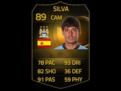 FIFA 15 SIF DAVID SILVA 89 Player Review & In Game Stats Ultimate Team