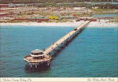 Navarre beach hotels navarre beach photo longest pier for Destin fishing pier