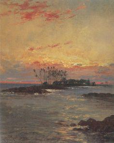 Hugo_Anton_Fisher_-_'Sunrise,_Hilo_Bay',_oil_on_canvas,_1896.jpg (1374×1727)