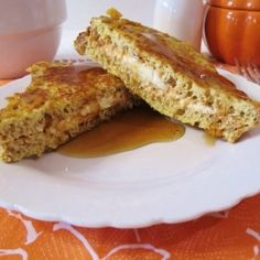 Crunchy Stuffed Pumpkin French Toast..stop it. just stop. i want everything pumpkin.