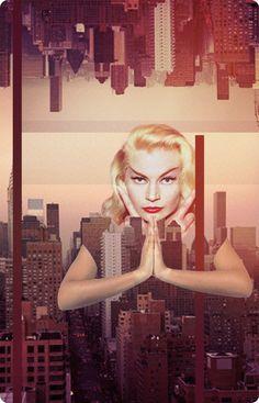 """Saatchi Online Artist: Deirdre Ohlwein Wolfgang; Digital, 2012, Assemblage / Collage """"se/ab/duction"""""""