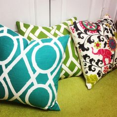 Pillows by AHA Designs