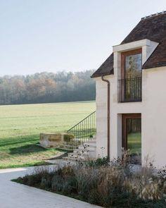 Rénovation d'une ancienne ferme par Collet & Muller Architectes - Journal du Design