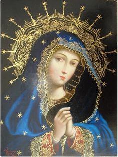 Madonna. Bendita seas Virgen María.....