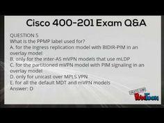 Cisco 400-201 Exam Question Answer