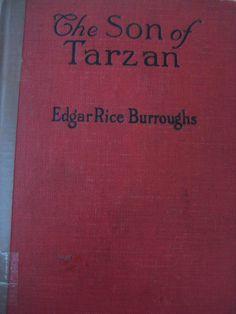 1917 The Son of Tarzan VTG Rare Book Edgar Rice Burroughs March 1917