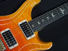 prs p24 orange fade artist - Google Search