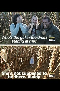 Corn maze, one of my favorite episodes.xD