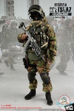 1/6 Figure Accessories Russian Spetsnaz FSB Alfa Group 2004 Beslan | Man of Action Figures