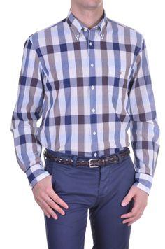 Men's Shirt Gant - check - brown | Kamiceria
