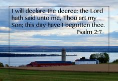 PSALM 2:7