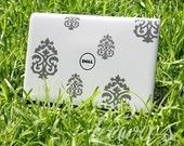 laptop damask decal