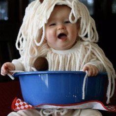 speghetti and meatballs kids costume