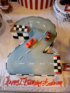 "Photo 1 of 80: Disney Cars / Birthday ""Anderson's 2nd Birthday Party!"" 