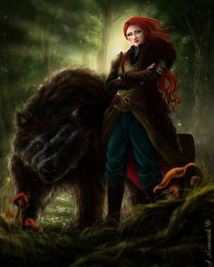 Female Ranger by sekiq.deviantart.com on @DeviantArt