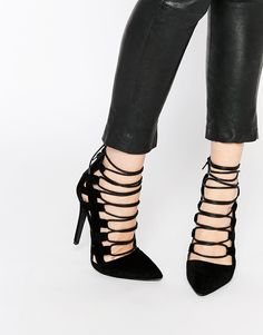 Missguided #laceup #heels #shoelust