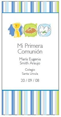 fondo rayas Ideas Para Fiestas, First Communion, Projects To Try, Religion, Invitations, Pattern, Sacramento, Scrapbook, Diy