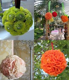 flower balls - Click image to find more hot Pinterest pins