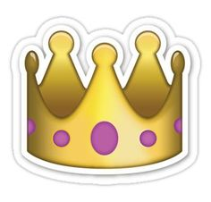 Transparent Emoji, Emoji People, Emoji Crown, Crown Emoji