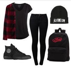 Image result for punk rock fashion tumblr