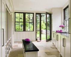 Mud room love from Hutker Architects