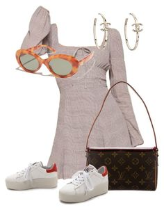 """""""Sans titre #3382"""" by mstfscxrus ❤ liked on Polyvore featuring Louis Vuitton, Ash, Chanel and Crap"""